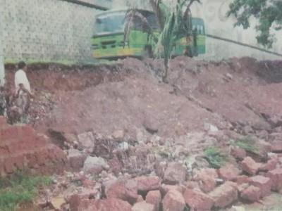 نیشنل ہائی وے تعمیراتی کام کی وجہ سے انکولہ میں بھاری نقصان