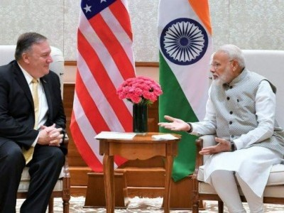 Pompeo, PM Modi meet to exchange views on key India-US strategic issues