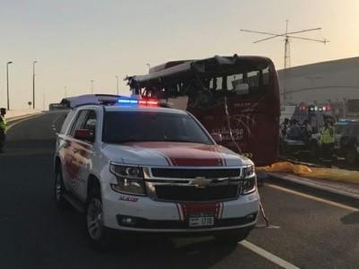 'Blood, body parts were scattered all around': Dubai bus crash survivor recounts horror
