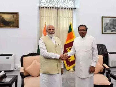 PM Modi meets top Lankan leadership; describes terrorism as a 'joint threat'