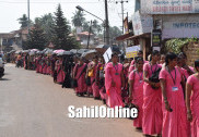 Bhatkal: Grand rally held to encourage people to cast vote in upcoming elections