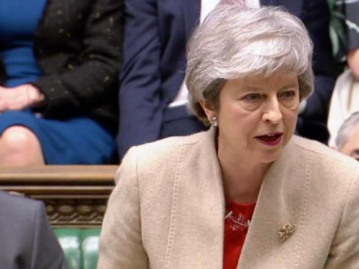 UK lawmakers reject PM Theresa May's Brexit deal in Parliament
