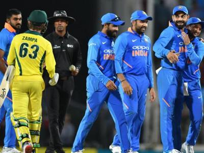 سنسنی خیز میچ میں ہندوستان نے آسٹریلیا کو 8 رنوں سے دی شکست ، سیریز میں 2-0 برتری حاصل
