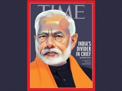 'ٹائم' میگزین نے مودی کو 'ہندوستان کا تقسیم کرنے والا رہنما' قرار دیا