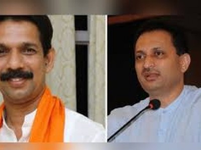 Union minister Hegde, BJP MP Kateel jump into Godse row