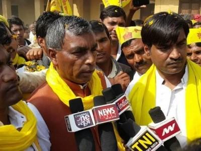 ایس پی-بی ایس پی اتحاد کو ملے گی پوروانچل میں بڑی جیت:راج بھر