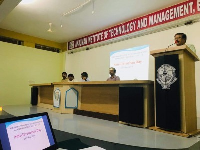 Anti-terrorism Day observed at Anjuman's AITM, Bhatkal