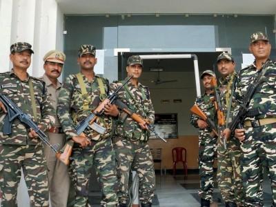 بنگلور میں ووٹوں کی گنتی کے لئے پولیس کے غیر معمولی حفاظتی انتظامات