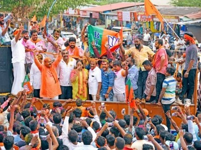 Shobha Karandlaje wins by 3,49,599 vote margin