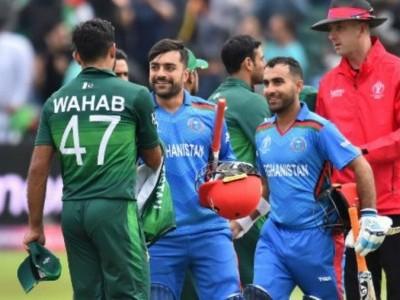 آئی سی سی ورلڈ کپ 2019 : وارم اپ میچ میں افغانستان نے پاکستان کو دی شکست