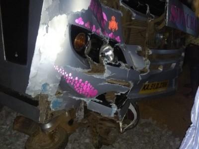 بھٹکل میں بس نے ماری اسکوٹر کو ٹکر؛ اسکوٹر سوار کی موقع پر موت