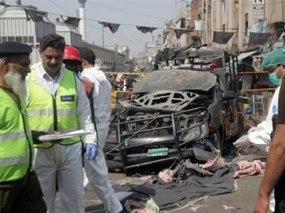 لاہور میں رمضان کے دوسرے دن خودکش دھماکہ،9ہلاک،25زخمی