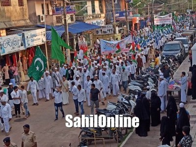 Milad Un Nabi (SAW) celebrated peacefully in Bhatkal