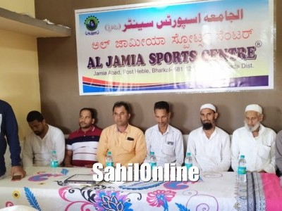 Library cum office inaugurated by Al Jamia Sports Centre, Bhatkal
