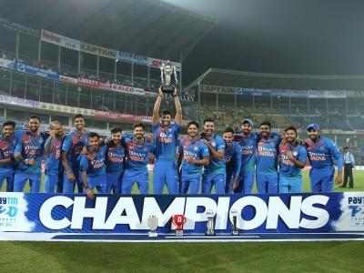 ہندوستان نے بنگلہ دیش کو آخری ٹی ٹونٹی میچ میں  30 رنز سے شکست دے کر سیریز 2-1 سے اپنے نام کر لی ، دیپک چھاہر کی ریکارڈ ساز باؤلنگ