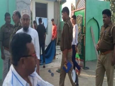 کشی نگر میں مسجد میں دھماکہ سے سنسنی، ایس ٹی ایف کی پوچھ گچھ