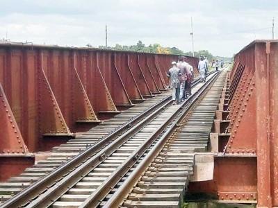 Construct railway bridge in Udupi