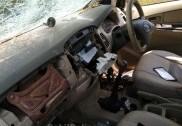 بھٹکل: جانوروں کو چراکرلے جانے کے الزام میں گاڑی کو روک کر زبردست توڑپھوڑ