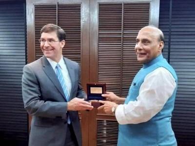 ہندوستان اور امریکہ کا دفاعی تعاون کے فروغ پر تبادلہ خیال