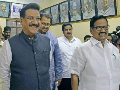 Congress, Shiv Sena leaders to discuss govt formation on Monday