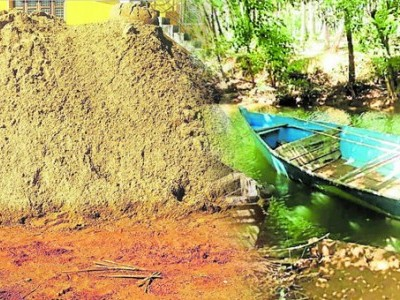 Illegal sand extraction continues in Kundapur