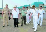 Russian delegation in Karwar