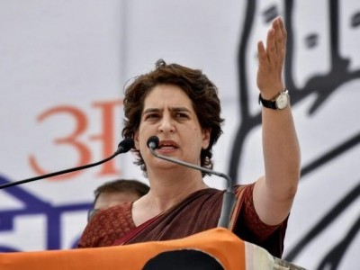 BJP making India's best organisations hollow, selling them: Priyanka Gandhi