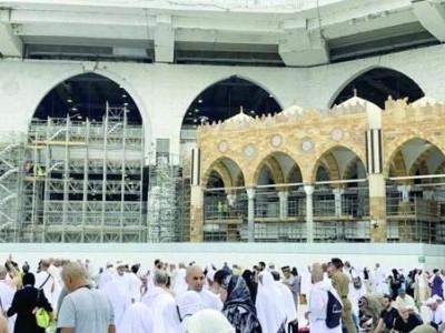 مسجد حرام کے مطاف میں قوس دار محرابوں کا کام کب مکمل ہوگا؟