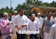 Bhatkal: Residents demand Asphalt roads in Firdous Nagar, submit a memorandum to MLA