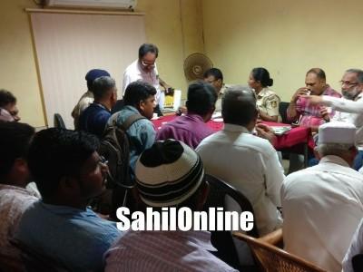 Peace meeting held ahead of Milad Un Nabi in Kumta