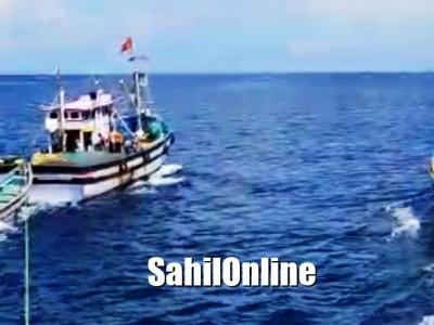 بھٹکل نیترانی جزیرے کے قریب ڈوبنے والی بوٹ پر پھنسے 28 ماہی گیروں کو بچالیا گیا