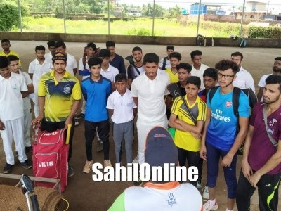 Bhatkal Sports Academy launches selections of players for cricket team; 75 players from Uttara Kannada participated