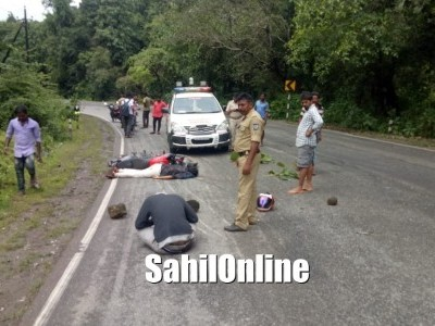 One killed, another injured in accident near Ankola