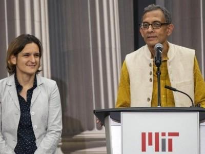 ابھجیت بنرجی اور ان کی بیوی ڈُفلو کو 'اکونومک سائنسز' کے لیے ملا نوبل انعام