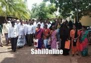 محکمہ جنگلات کے افسران کے خلاف بھٹکل پولس اسٹیشن کے باہر احتجاج؛ اے ایس پی کو دی گئی تحریری شکایت