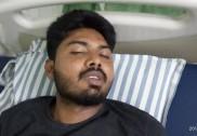 سرسی پولس پر نوجوان کو بری طرح پیٹنے کا الزام۔ زخمی نوجوان منگلورو اسپتال میں داخل۔ پولس نے  الزام کو کیا  مسترد