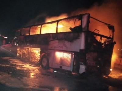 ریاض سعودی عرب میں پیش آیا خوفناک سڑک حادثہ۔35زائرین ہوگئے جاں بحق
