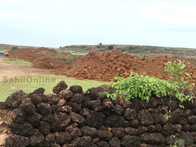 افسران کی مبینہ ملی بھگت سے بھٹکل میں حد سے بڑھ گئی پتھروں کے لئے غیر قانونی کھدائی۔ منڈلّی کی پہاڑی کو نابود کرنے کی ہورہی ہے تیاری
