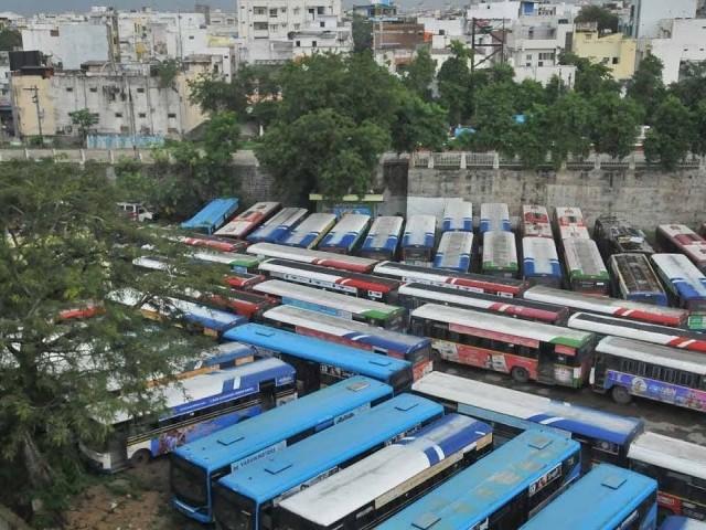 TSRTC bandh begins in Telangana