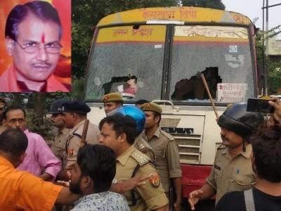 متنازعہ ہندو مہاسبھا لیڈر کملیش تیواری کا برسرِعام قتل