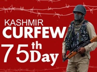 وادی کشمیر میں غیر اعلانیہ ہڑتال کے 2.5 ماہ مکمل، تاریخی جامع مسجد کے محراب و منبر مسلسل خاموش
