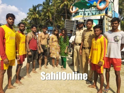 Four Tourists Rescued From Drowning in Murdeshwar Beach