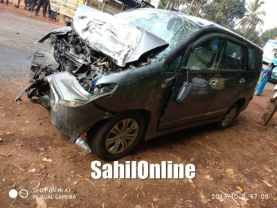 Car-Truck accident on Kumta NH-66; 1 killed