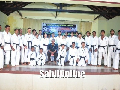 Shotokon Karate Institute Holds Black Belt Grading in Bhatkal