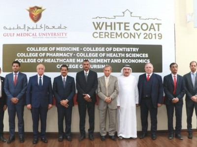 Ajman UAE: Gulf Medical University's White Coat Ceremony Welcomes New Batch of 472 Future Healthcare Professionals