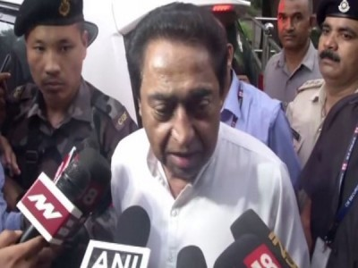 MP government trying to crush farmers' voice: Kamal Nath