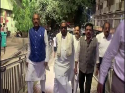 Siddaramaiah, DK Suresh not allowed to meet Shivakumar at RML hospital