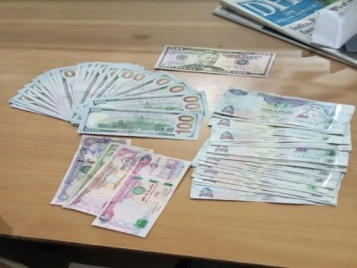 Foreign currencies seized from Mangaluru Airport
