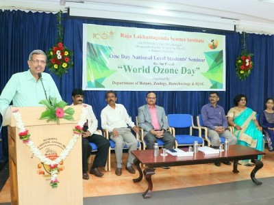 National level student's seminar on World Ozone day held in KLE Belagavi