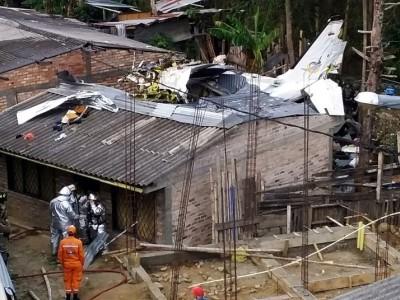 کولمبیا میں طیارہ حادثہ، 7 افراد ہلاک